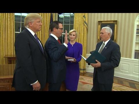 Steven Mnuchin confirmed as US Treasury chief