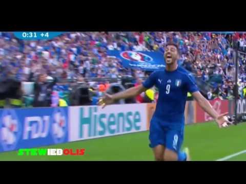 Italia Vs Spagna 2 0 ● Tutti i Goal ● Sky Sport HD Caressa e Bergomi ● Euro 2016 ● HD #ItaliaSpagna