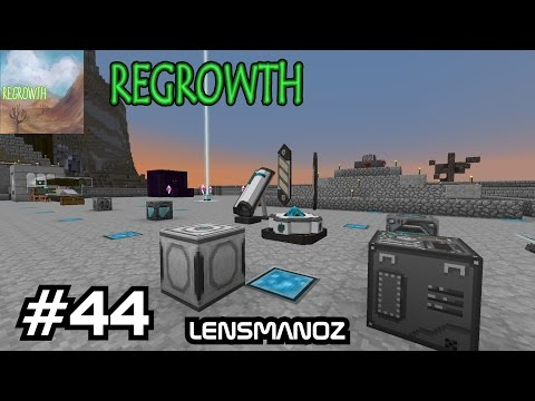 Minecraft - Regrowth - Ep 44 - More Academy craft