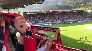 *** tipps und infos zum thema groundhopping: https://www.flutlichtfieber.de ***die fc-fans verabschieden im schwarzwald-stadion ihre spieler aus der 1. bunde...