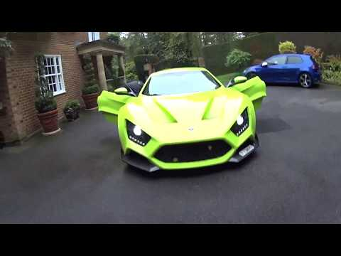 Zenvo 1200hp HyperCar - Driven