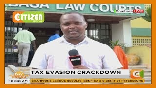 Two suspects believed to be  involved in a tax evasion scheme, arrested in Mombasa