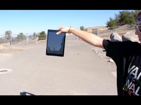 iPad Air Drop Test - Least Durable Tablet?