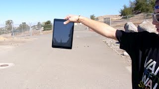 iPad Air Drop Test - Least Durable Tablet? thumbnail