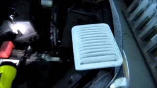 How to change the engine air filter on 2009-2013 Toyota Corolla
