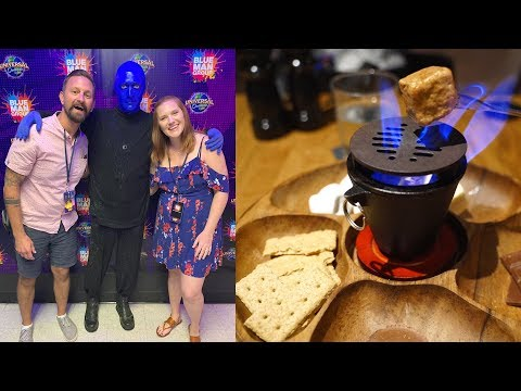 universal-orlando-date-night!- -blue-man-group-vip-experience,-dinner-at-bigfire-&-a-food-review!