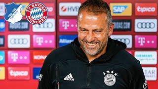 FC Bayern Pressetalk mit Hansi Flick vor dem Spiel gegen die TSG Hoffenheim