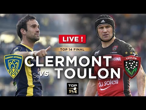 WATCH LIVE | TOP 14 Rugby Final - Clermont Vs Toulon !