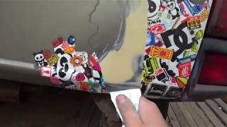 Восстановление задней двери на примере ВАЗ-2120 Лада Надежда (ремонт хлопушки) ★ Хранители истории