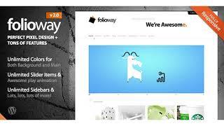 Folioway - Premium Portfolio WordPress Theme | Themeforest Website Templates and Themes