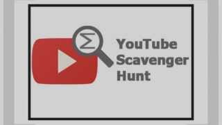 Center of Math YouTube Scavenger Hunt Announcement