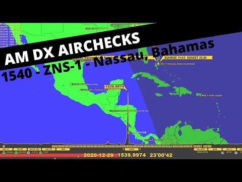 1540 - ZNS-1 - Radio Bahamas - Nassau, Bahamas