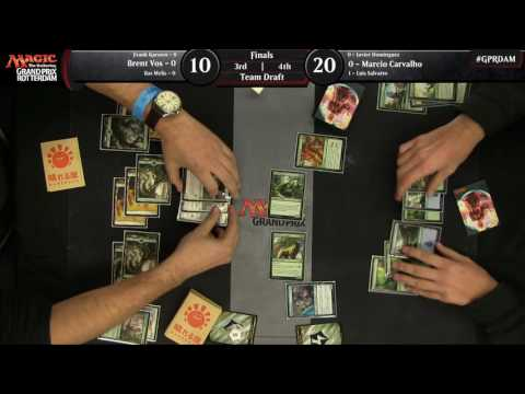 Magic the Gathering Grand Prix Rotterdam Finals