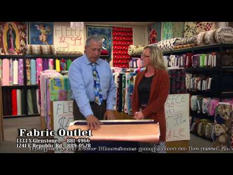 Fabric Outlet, Flece & Satin