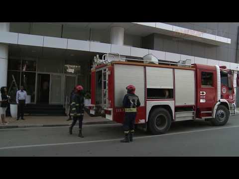 Incêndio no Banco Sol, Luanda 25/05/2017