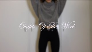 Outfits Of The Week | Jenny Josephine