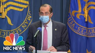 HHS Secretary Alex Azar Says Covid Vaccines May Start Being Distributed After Dec. 10 | NBC News NOW