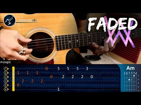 Alan Walker  FADED | Guitar Tutorial | Christianvib