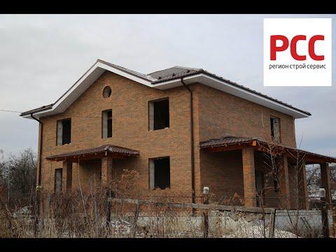 Одноэтажный дом в п. Мехзавод. Самара. Руководитель строительной компании - Глушков Вадим Сергеевич