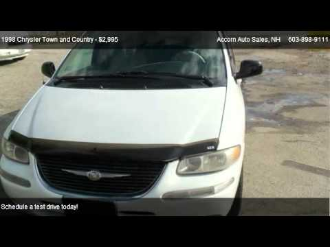 1998 chrysler town and country lxi for sale in salem nh 03079 youtube. Black Bedroom Furniture Sets. Home Design Ideas