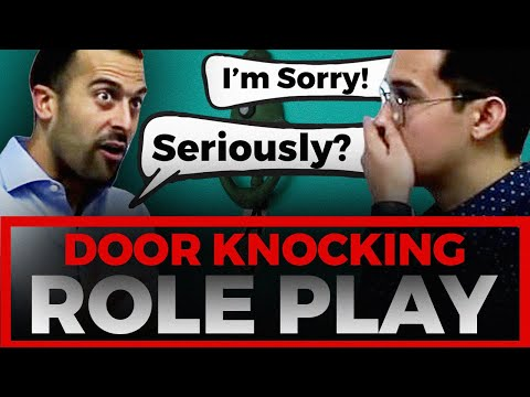 LIVE Door Knocking Role Play