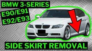 BMW 3-SERIES E90 / E91 - Side Skirt Removal