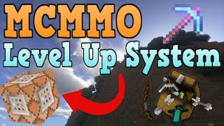 Minecraft Bedrock Edition MCMMO RPG Level System Command Block Tutorial
