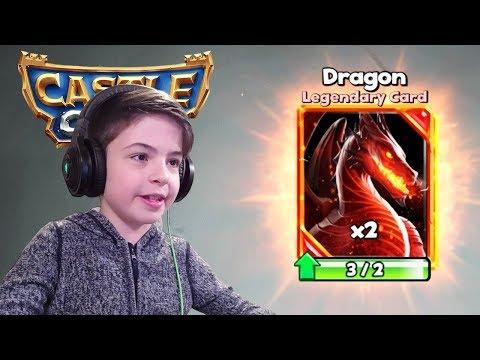 2x DRAGON IN LEGENDARY CHEST - Castle Crush