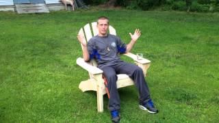 Mike Bergen Woodwork Adirondack Chairs With Matt Bergen