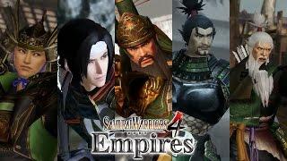 Samurai Warriors 4 Empires - Dynasty Warriors CAWs - Shu Five Tigers
