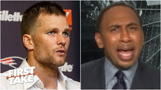 Stephen A. sounds off on Tom Brady's latest Instagram post | First Take