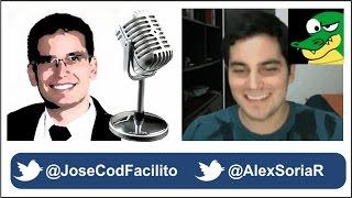 Entrevista a Alejandro Soria - CEO de CodigoFacilito by @JoseCodFacilito