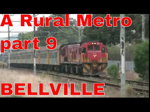 A Rural Metro Train in South Africa Part 9 Spotted before Bellville