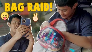 Bag Raid of Q | CANDY & QUENTIN | OUR SPECIAL LOVE