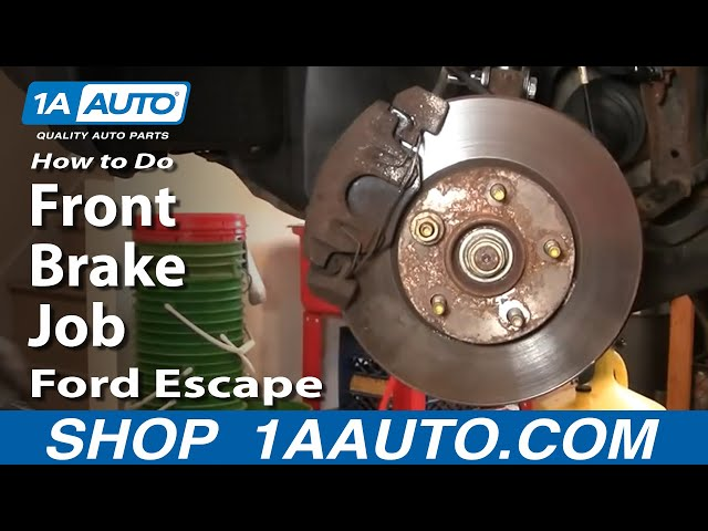 2008 For Ford Escape Rear Disc Brake Rotors and Ceramic Brake Pads Stirling