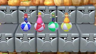 Mario Party 10 - Peach vs Daisy vs Mario vs Luigi (Master CPU)