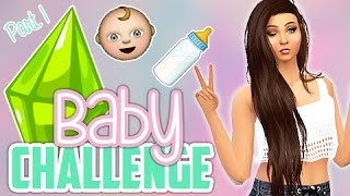 Lets Play: The Sims 4 Baby Challenge (Part 1) Restart!