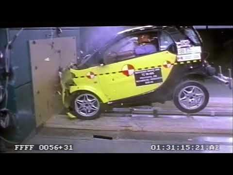 Crash tests from the database of the National Highway Traffic Safety Administration