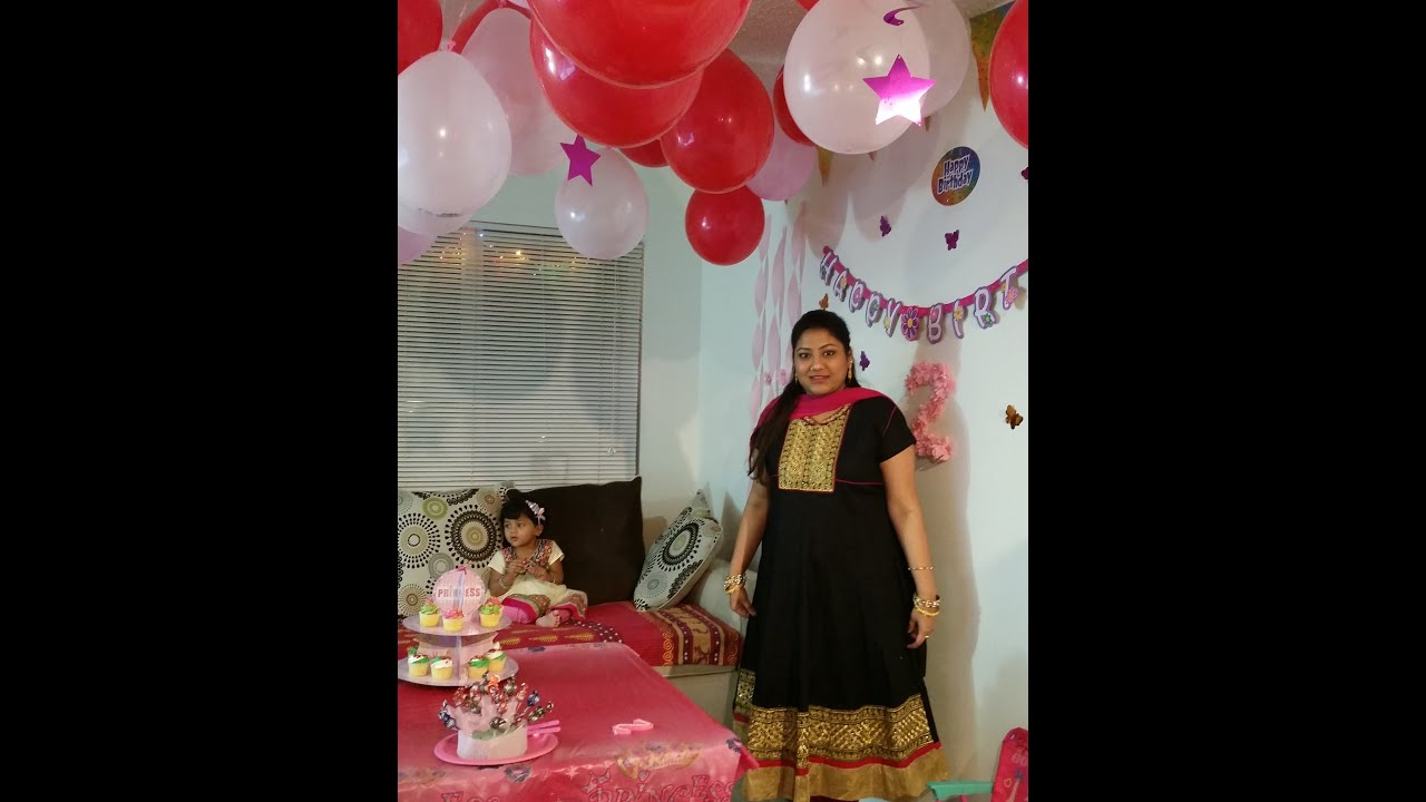 Hurrayyyy ..Its A Party Time..Birthday party Decor - YouTube