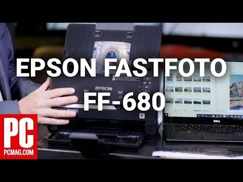 Epson FastFoto FF-680W Review