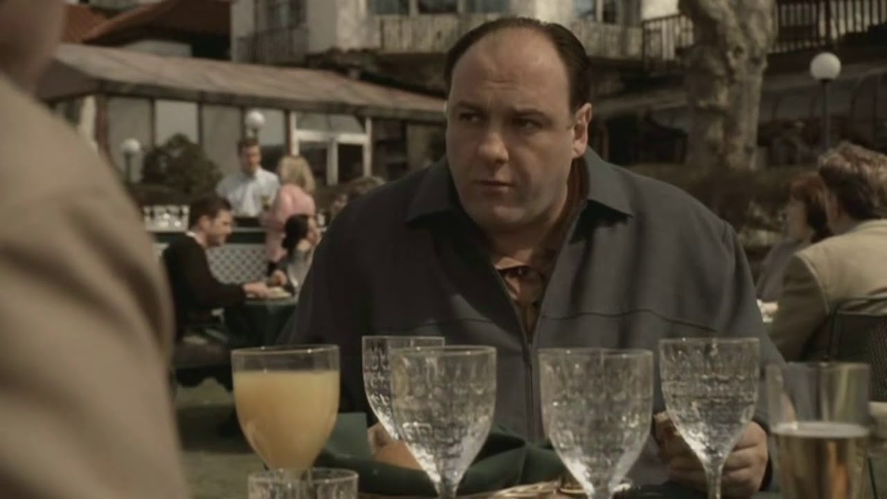 Carmine Lupertazzi Has A Stroke - The Sopranos HD - YouTube