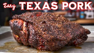 Easy Pulled Pork Recipe | Texas Style on the Outlaw Smoker