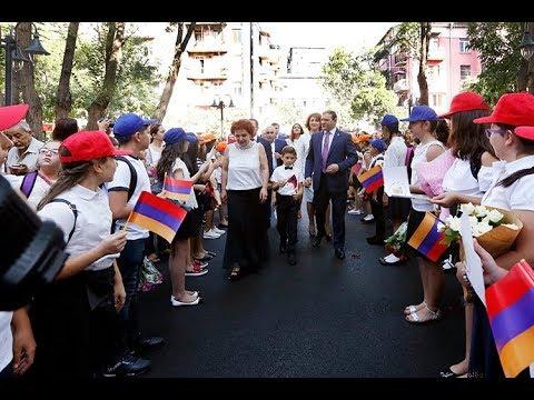 Քաղաքապետ Տարոն Մարգարյանն այցելել է Նելսոն Ստեփանյանի անվան համար 71 հիմնական դպրոց