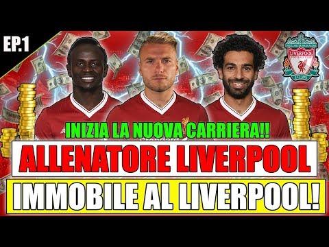 IMMOBILE AL LIVERPOOL!!! 150 MILIONI SPESI SUBITO!! INIZIO ASSURDO! FIFA 18 CARRIERA ALLENATORE #1