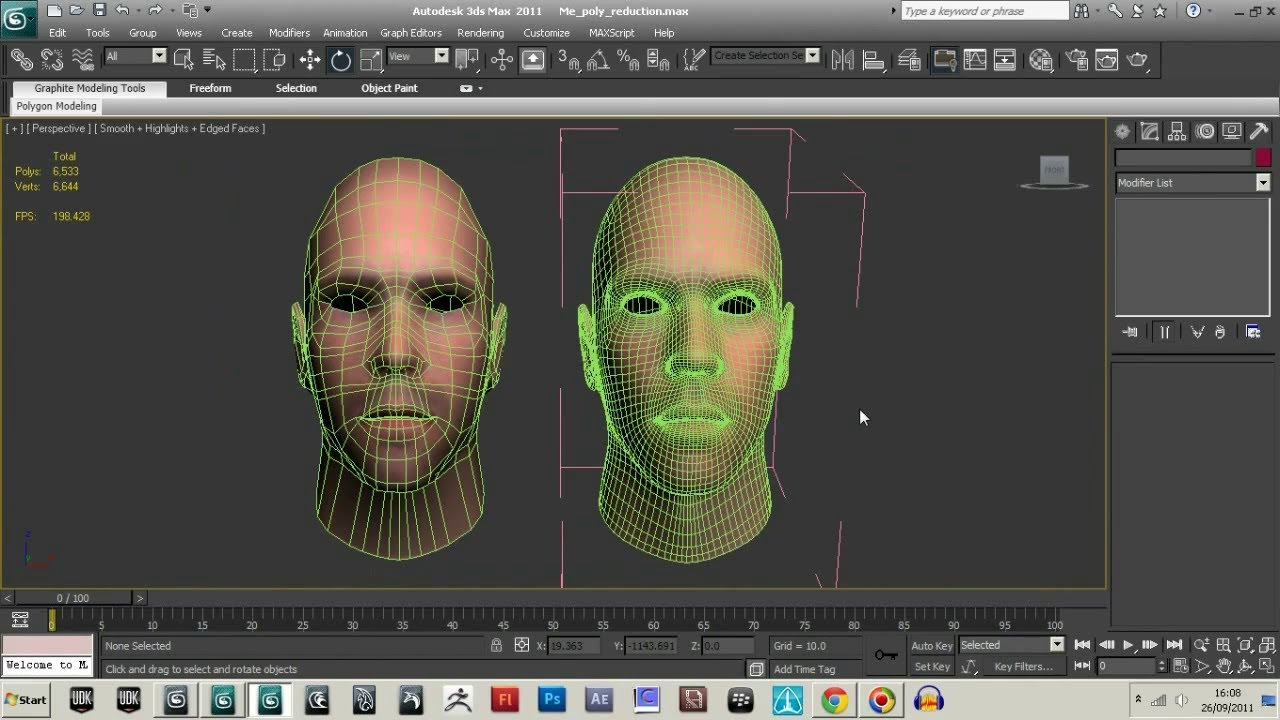 How Much Is To high Poly Count for a Character Model ...