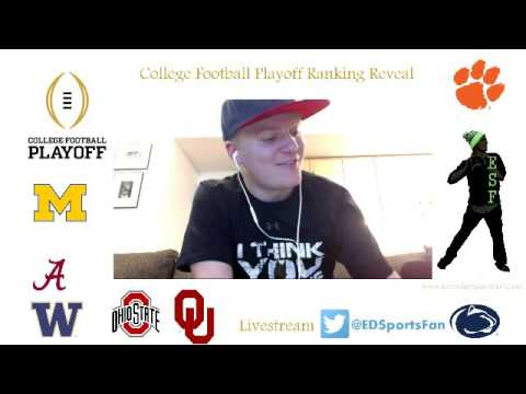 College Football Playoff Ranking Reaction Week 14