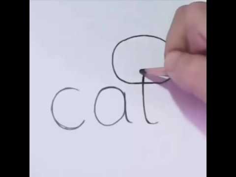 Kolay Kedi çizimi Youtube