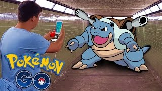 Pokemon GO | WE FOUND BLASTOISE!