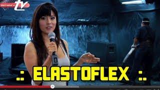 EL ELASTOFLEX, Recubrimiento de los Bafles ELIPSIS