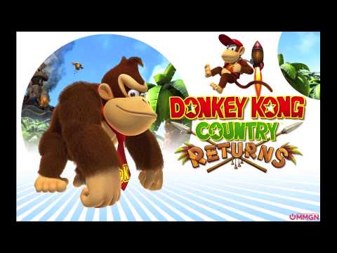 Donkey Kong Country Returns Music: Switcheroo A (Life In The Mines Returns)